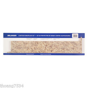 Countertop End Cap : BELANGER-Laminate-Countertop-End-Cap-Wall-Sidesplash-Endsplash-KIT ...