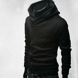 High Collar Men's Jackets Dust Coat Clothes M L XL XXL XXXL 4 Colors B153