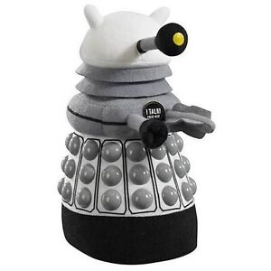 Doctor Who Medium Talking Dalek White Plush NEW! Previews Exclusive