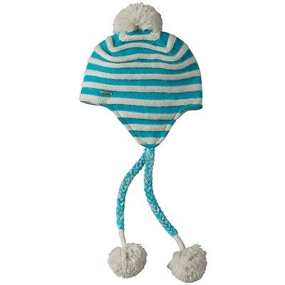 Womens Koppen Brink Striped Peruvian Snowboard Winter Snow Ski Knit Beanie Hat