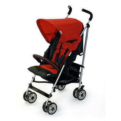 Hauck 2012 Turbo Deluxe Stroller In Red Brand