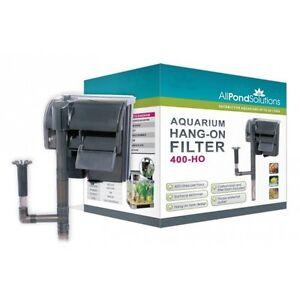 Hang-On-External-Filter-Aquarium-Fish-Tank-All-Pond-Solutions-HO-Range-NEW