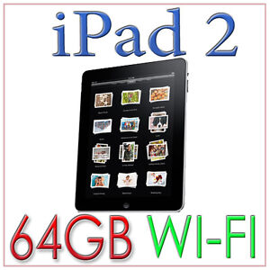 New-Sealed-Black-64GB-Wi-Fi-Apple-iPad-2-MC916LL-A