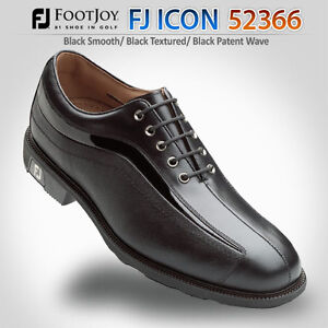 NEW-Footjoy-FJ-ICON-52366-Mens-Golf-Shoes-Manufacture-Closeout-8-5-Medium