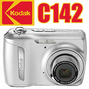 NEW-10MP-DIGITAL-CAMERA-KODAK-EASYSHARE-C142-3X-OPTICAL-5X-DIGITAL-ZOOM-CHARGER