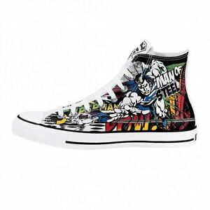 NEW CONVERSE ALL STAR CHUCK TAYLOR DC COMICS - SUPERMAN BATMAN SHOES - 4 Models