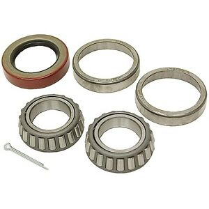 1 Inch Boat Trailer Wheel Bearing Kit - Bearings, Races, Seal and Cotter Pin