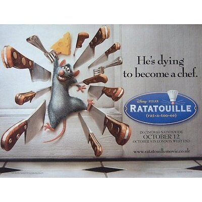 Ratatouille movie poster print - Disney , Pixar - 12 x 16 inches