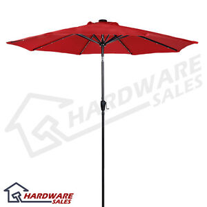 Sunergy-50104395-9-039-Solar-Powered-Patio-Umbrella-w-24-LED-Lights-Scarlet-Red