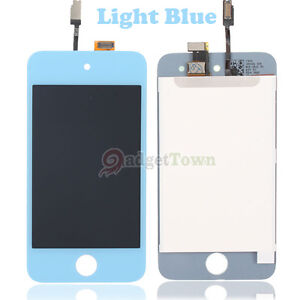 New 1/8 Color Replacement LCD Screen Digitizer Assembly For iPod Touch 4 4th Gen
