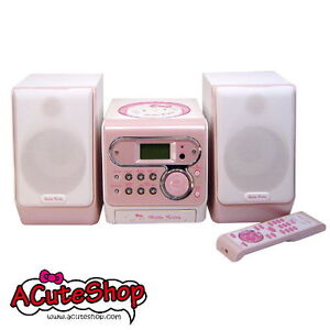 Hello-Kitty-MP3-CD-Player-MICRO-COMPONENT-STEREO-NIB