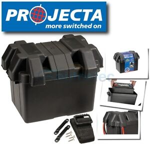 PROJECTA-BB285-BATTERY-BOX-CARRY-CASE-12V-80AH-CAR-AGM-DEEP-CYCLE-DUAL-SYSTEM