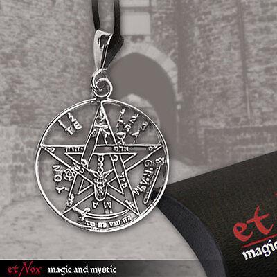 Tetragrammaton Eliphas Levi Pentagramm JHWH Amulett Anhänger 925er Silber K725