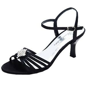 WOMENS-NEW-BLACK-LOW-HEELS-EVENING-DANCING-DRESS-SANDALS-LADIES-SHOES-AU-SIZES