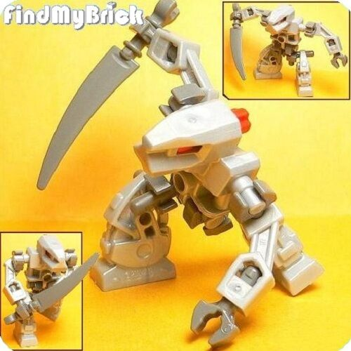 Lego Devastator Droid Robot Minifigure - Pearl Gray NEW