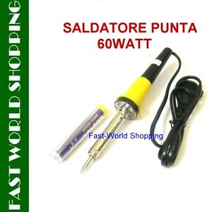 SALDATORE-SALDATRICE-CONFEZIONE-STAGNO-PUNTA-ANTICORROSIONE-60WATT