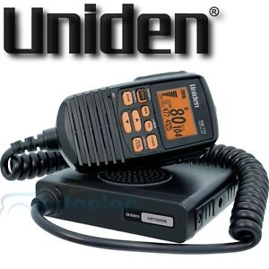UNIDEN-80-CHANNEL-UH7760NB-UHF-CB-RADIO-5-WATT-MOBILE-TWO-WAY-NEW-REMOTE-DISPLAY