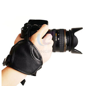 Leather-battery-Grip-Hand-Strap-For-Nikon-D7000-D90-D5100-D3100-D60-Camera-E3N
