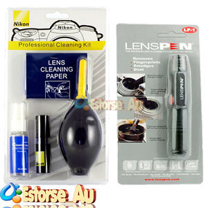 7 in 1 Professional Lens Cleaning Kit + Genuine Lens Pen Cleaning Set For Nikon