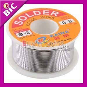 Mini-0-8mm-63-37-Tin-Lead-Rosin-Core-Flux-Solder-Wire-Reel-Useful