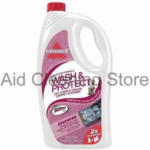 BISSELL 2X CONCENTRATE PET & STAIN ODOUR SMELL SHAMPOO Carpet Cleaning Fluid