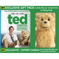 Ted Blu Ray (Best Buy Exclusive W/ Ted Plush Doll) Brand New