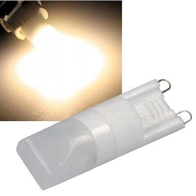 3 ST LED STIFTSOCKEL LAMPE G9 WARMWEI 100LM 230V 2W G 9 LEUCHTMITTEL BIOLEDEX