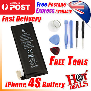 Battery Replacement 1430mAh New For Apple iPhone 4S 4GS With Free Tools Kit AU