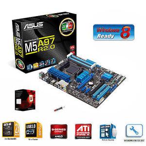 Aufrüst Kit Bundle: AMD Bulldozer FX-8350 8x 4.0 GHz / ASUS M5A97 AM3+ Mainboard