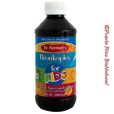Dr. Norman's Bronkoplex for Kids Packaging