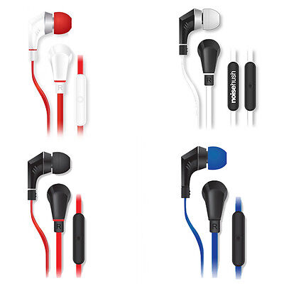 Noisehush Nx80 3.5mm Stereo Headphones Headset Mic All Colors Nx-80 Best Seller