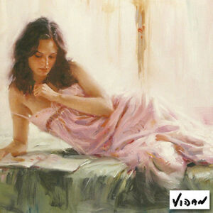 'Quiet Morning' Limited Edition Giclee on Art Paper By Vidan