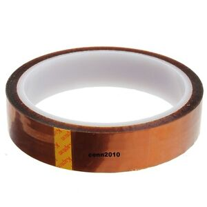 30mm X 100ft Kapton Tape BGA High Temperature Heat Resistant Polyimide Gold USA