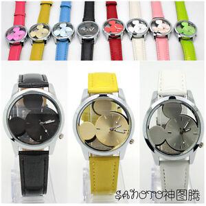 2012-New-Disney-Mickey-Mouse-Quartz-Wrist-Watch-Free-Shipping