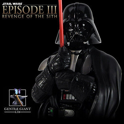 Star Wars Gentle Giant Deluxe Darth Vader Bust Statue from 2005
