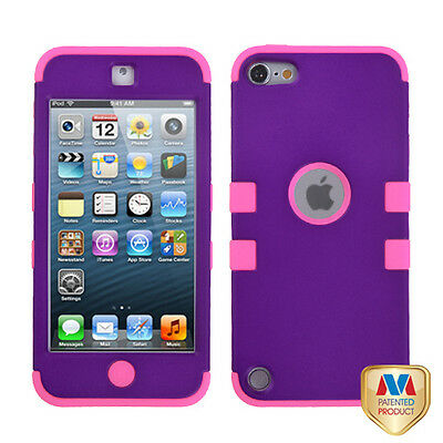 Pink Purple Protective Hybrid Tuff Hard Cover Case Apple ...  Pink Purple Pro...