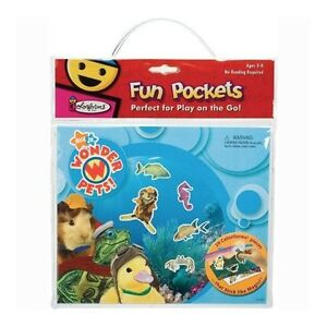 COLORFORMS Nickelodeon Wonder Pets Fun Pockets Travel Play Set Sea and Safari