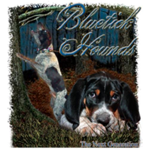 T-shirt Shirt Hound Coon Dixie Hunter Hunting Treeing Raccoon Dog Bluetick Gen