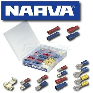 NARVA-CRIMP-TERMINAL-KIT-SET-WIRE-CRIMP-CONNECTOR-ASSORTMENT-320-PIECE-56520