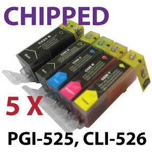 Compatible Printer ink Cartridges PGI-525 CLI-526 for Canon Pixma iP4950 iX6250