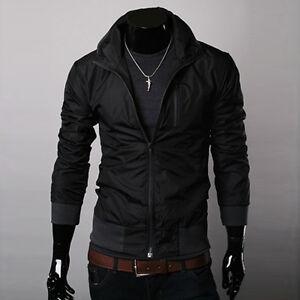 ZHN104-New-Fashion-Mens-Baseball-Sports-Waterproof-Jackets-Coats-Windproof