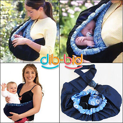 Newborn Baby Infant Toddler Native Cradle Pouch Ring Sling Carrier Kid Wrap Bag on Rummage