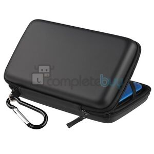 Black Eva Pouch Carry Case Cover For Nintendo 3DS XL