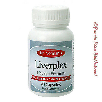 Dr. Norman's Liverplex Packaging