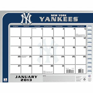 New York Yankees 2013 Desk Pad