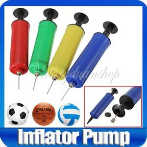 Mini-Colors-Plastic-Hand-Air-Pump-Needle-Ball-Party-Balloon-Pillow-Inflator