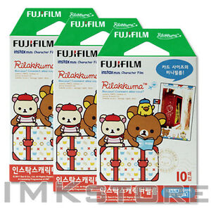 Fujifilm instax instant mini film Rilakkuma 3 Packs(30 photos) Limited Edition