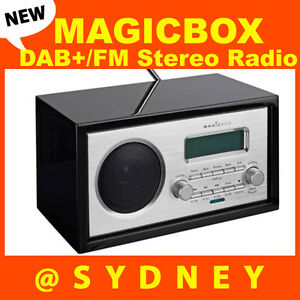 new magicbox cleaver dab fm stereo digital radio and alarm clock rrp 169. Black Bedroom Furniture Sets. Home Design Ideas