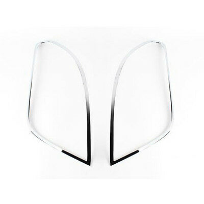 Chrome Rear Tail Light Lamp Molding Cover 2p 1Set For 13 Chevy Trax