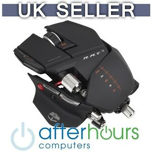Saitek Cyborg R.A.T 9 Rat 6400dpi Wireless Gaming Mouse